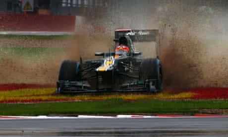 Formula One: Heikki Kovalainen in the British Grand Prix