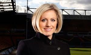 ESPN presenter Rebecca Lowe