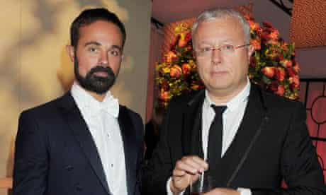 Evgeny and Alexander Lebedev