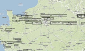 Twitter: trends in France