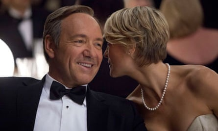 House of Cards: Kevin Spacey and Robin Wright