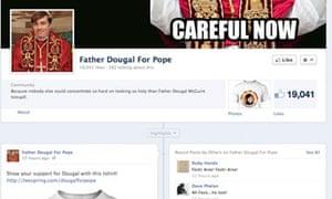 Facebook Pope