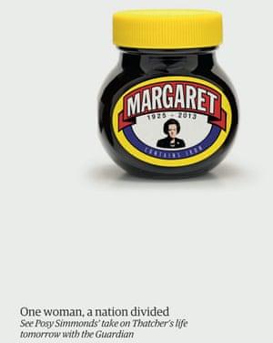 Guardian Thatcher Marmite ad