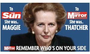 Mirror Thatcher ad