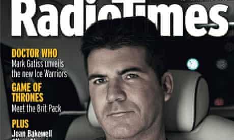 Simon Cowell cover Radio Times