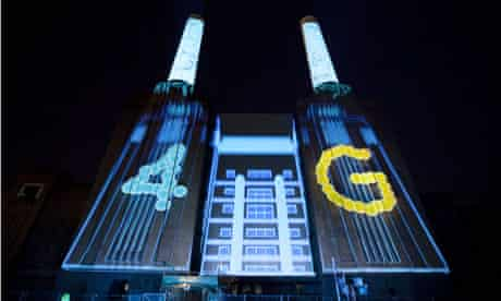EE's 4G launch party
