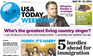 Read all about it ... USA Today