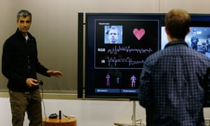 Microsoft's Kareem Choudhry demonstrates how the new Kinect for Xbox One