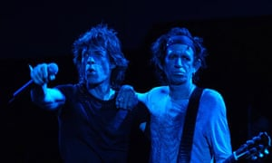 The Rolling Stones: Mick Jagger and Keith Richards