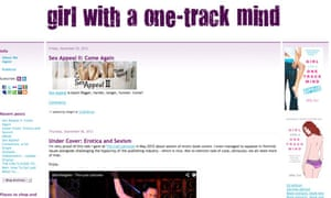 Girl with a one track mind blog