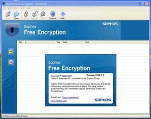 Sophos encryption