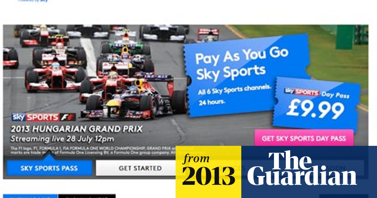 Bskyb Annual Results Now Tv Day Pass Sales Hit 50 000 Sky The Guardian