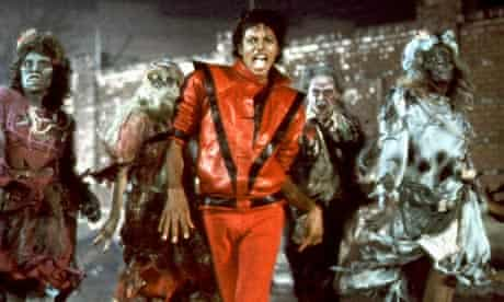 Michael Jackson in Thriller video