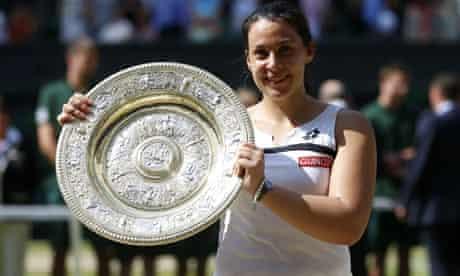Marion Bartoli at Wimbledon 2013