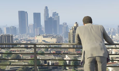 Gta  Review A Dazzling But Monstrous Parody Of Modern Life Games The Guardian