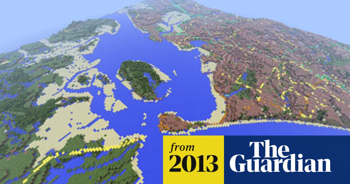 Minecraft map of Britain created by Ordnance Survey   Games   The