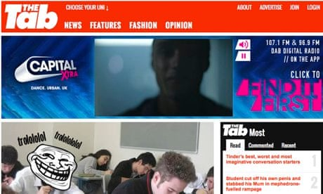 The Tab: the student website making headlines | Media | The