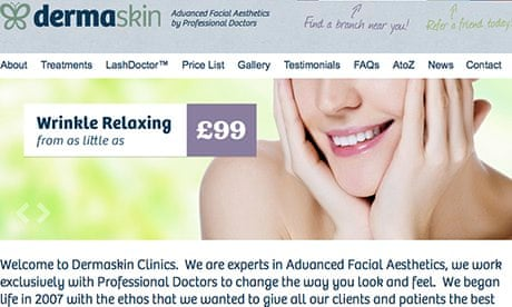 Botox ads banned over 'beauty treatment' claims | Media | The Guardian