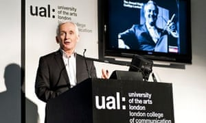 David Walsh delivering the annual Cudlipp lecture at the LCC