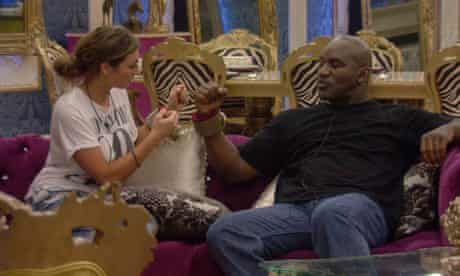 Chelebrity Big Brother: Luisa Zissman and Evander Holyfield