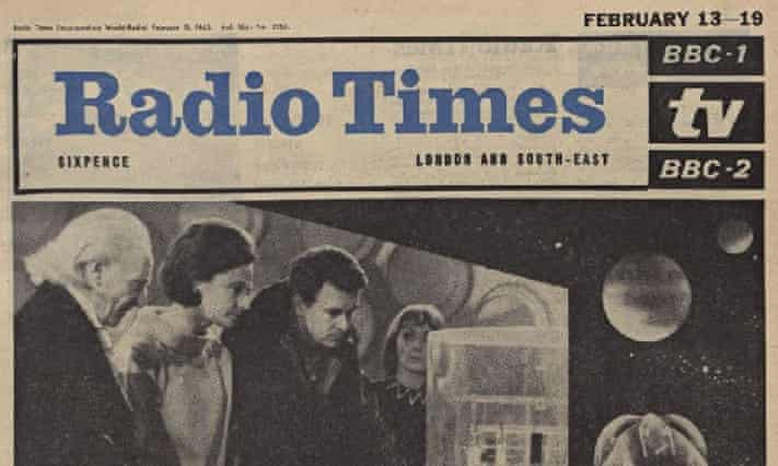 The Radio Times issues in the BBC Genome project include this 1965 issue
