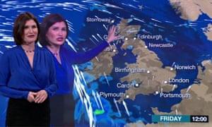 BBC News channel presenter Helen Willetts