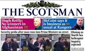 The Scotsman is to merge operations with Scotland on Sunday and Edinburgh Evening News