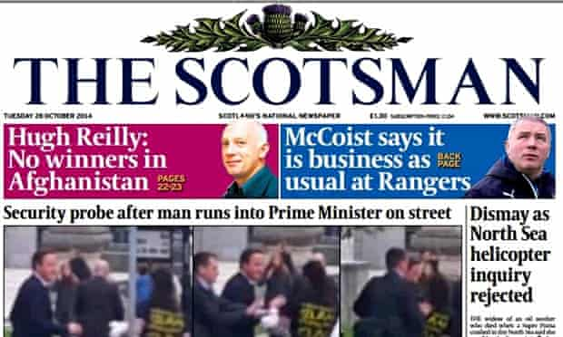 Johnston Press owns titles including the Scotsman and the Yorkshire Post