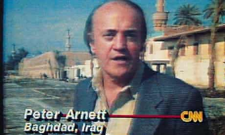 CNN's Peter Arnett reports from Baghdad in 1991