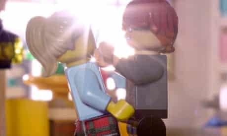 BT Flatmates 'Dance' ad recreated with Lego