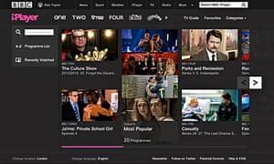BBC iPlayer revamp - March 2013
