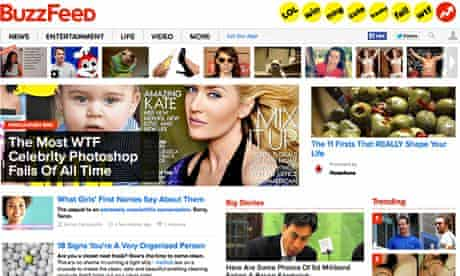 Buzzfeed has developed a bigger international audience than BBC News and BBC Worldwide