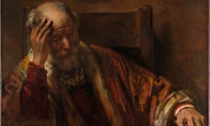 Old Man in an Armchair was ruled by the National Gallery to be by a follower of Rembrandt