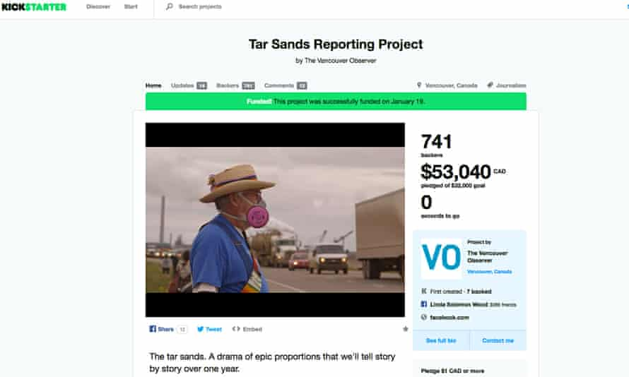 The Vancouver Observer's Tar Sands Reporting Project