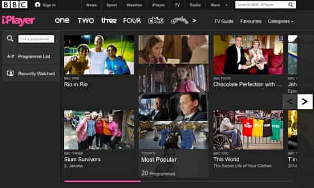 BBC iPlayer: the BBC plans to introduce encryption