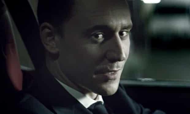 Tom Hiddleston in Jaguar's 'The Art of Villainy' ad