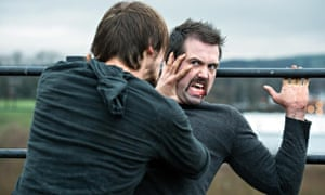 Hollyoaks: censured for airing 'violent and shocking' scenes of a fight between Brendan and Walker