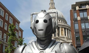 Doctor Who: Cybermen filming series 8 at St Paul's Cathedral