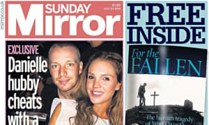 Sunday Mirror publisher Trinity Mirror has set aside £4m to deal with phone-hacking claims