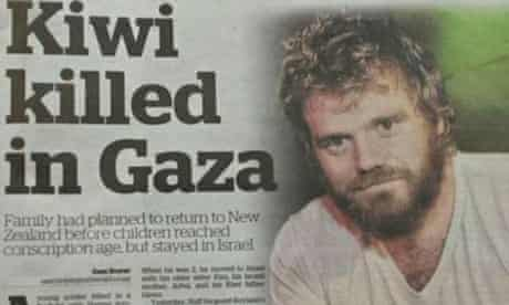 The New Zealand Herald's front page bearing the wrong picture