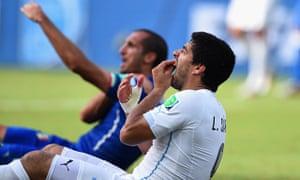 Twitter users were swift to confirm that Luis Suarez had bitten Giorgio Chiellini