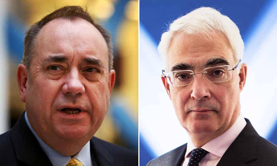 Scottish independence TV debate: Alex Salmond and Alistair Darling are to go head to hea