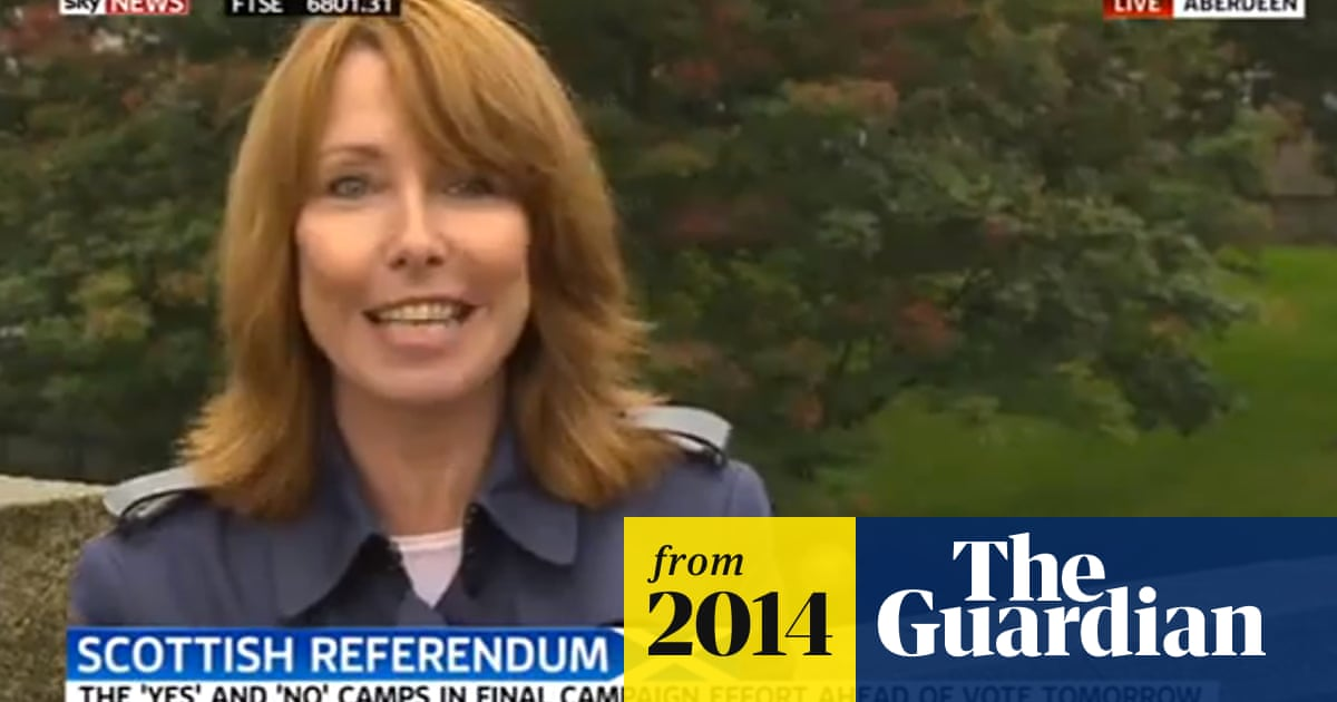 Sky News' Kay Burley apologises for calling yes campaigner a