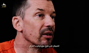Islamic State video of captured British photojournalist John Cantlie