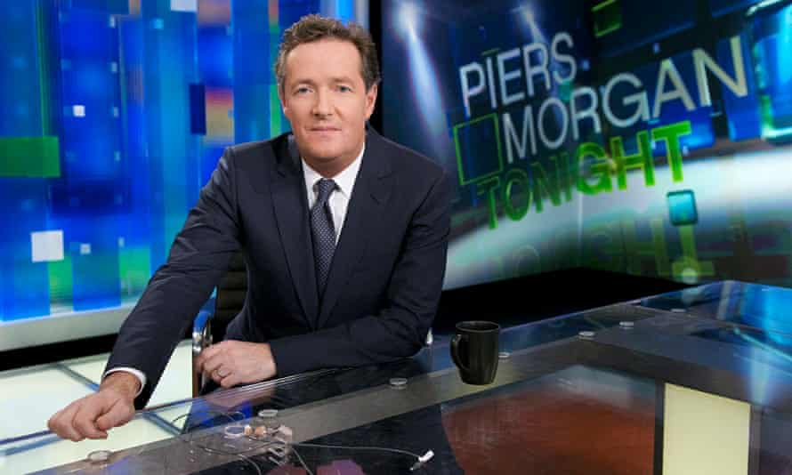 Piers Morgan: joining Mail Online