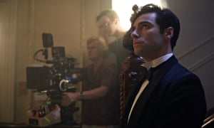 bbc s and then there were none puts a darker spin on agatha  aiden turner on the shoot of the bbc s and then there were none