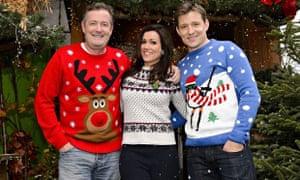Piers Morgan, Susanna Reid and Ben Shephard of Good Morning Britain
