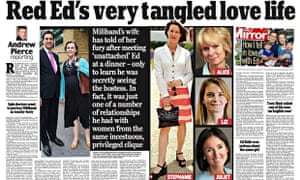 The Daily Mail's Ed Miliband spread