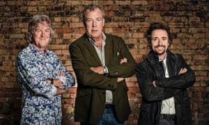James May, Jeremy Clarkson and Richard Hammond