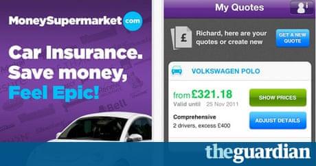 Moneysupermarket Car Insurance App